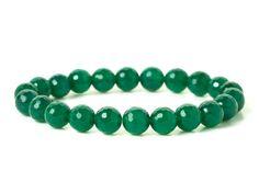 naramok-achat-zeleny-fazetovany-8mmm Turquoise Bracelet, Ale, Beaded Bracelets, Jewelry, Jewlery, Jewerly, Ale Beer, Pearl Bracelets, Schmuck