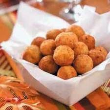 Beer-Battered Deep Fried Cheese Bites