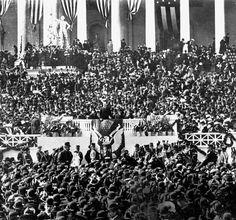 Inauguration of Teddy Roosevelt, 1905