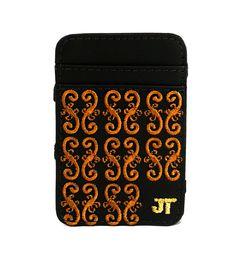 JT Magic Wallet Magestic Color: Khaki and Brown #couro #bordado #fashion #accessories #moda #style #design #acessorios #leather #joicetanabe #carteira #carteiramagica #courolegitimo #wallet
