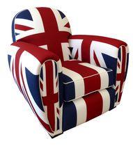 pop art design armchair Union Jack