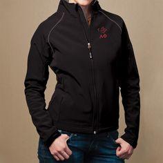 Campus Classics - Alpha Phi Ladies Black Soft Shell Jacket, $65.95 (http://www.campus-classics.com/alpha-phi-ladies-black-soft-shell-jacket/)