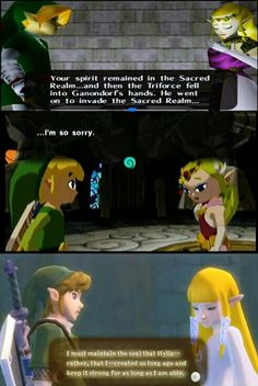 Stop doing things u have to apologize for Zelda...