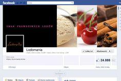 Cover photo i awatar na Fan page marki #Lodomania