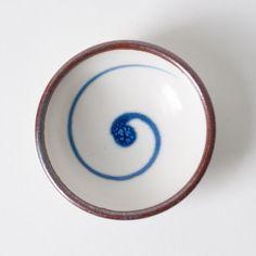 """Japanese Ceramic Bowl: 3.2"""" diameter #Ceramics #Bowl"""