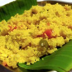 Tudo gostoso a receita de Farofa de Couscous com Banana do Comida do dia. Receita fácil que você vai amar.