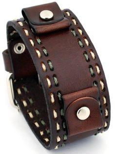 Nemesis #DBDT Burgandy Wide Leather Cuff Wrist Watch Band with Stitching Nemesis,http://www.amazon.com/dp/B00A1FF79S/ref=cm_sw_r_pi_dp_aM4ntb09PK2B5SP2