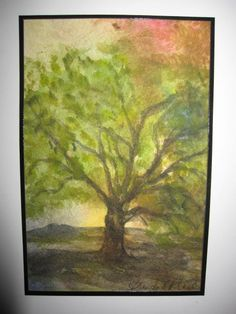 Three Trees Collage by SoulfulArt on Etsy