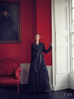 A Regency Romance in Harper's Bazaar UK with Hedvig Palm - (ID:47712) - Fashion Editorial   Magazines   The FMD #lovefmd