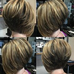 """It can not be repeated enough, bob is one of the most versatile looks ever. We wear with style the French """"bob"""", a classic that gives your appearance a little je-ne-sais-quoi. Here is """"bob"""" Despite its unpretentious… Continue Reading → Angled Haircut, Asymmetrical Bob Haircuts, Angled Bob Hairstyles, Stacked Bob Hairstyles, Bob Hairstyles For Fine Hair, Celebrity Hairstyles, Wedding Hairstyles, Short Angled Bobs, Layered Bobs"""