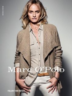 717188bb1c5f Amber Valletta for Marc O Polo Fashion