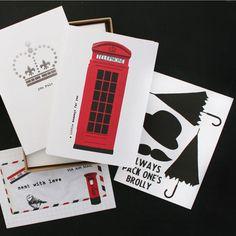 "Nancy & Betty British box set by Hannah Bidmead. (Love the ""You Rule"" card!)"