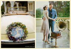 20's style Wedding / Ruche Blog