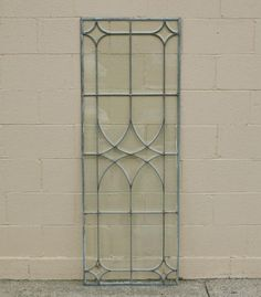 """(What I see here is a """"blank canvas"""" for colored glass! Glass Window, Stained Glass Door, Victorian Windows, Leadlight Windows, Faux Stained Glass, Glass Design, Mosaic Glass, Leaded Glass, Stained Glass Panels"""