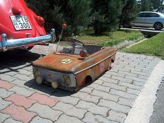 Awesome pedal car
