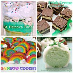 St Patty's Day Dessert Roundup