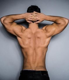 One for the guys. Lats - Biceps - Triceps - Traps and Glutes! Keep it up Gents. Gym - Fitness - Exercise - Nutrition - Workout.