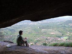 Caverna no topo da Serra Barriguda