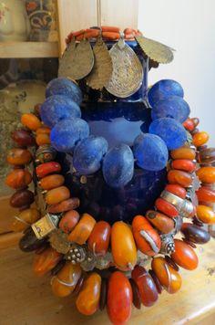 Beaded Beads, Beaded Jewelry, Jewelry Necklaces, Handmade Jewelry, Bracelets, Chunky Jewelry, Amber Jewelry, Tribal Jewelry, Chunky Necklaces