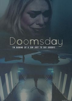 #DoctorWhoChallenge Day 10: Saddest Episode- Doomsday. I have never cried for a fictional character before- or since, though I came close on a couple other episodes- but I must have cried at least three times through Army of Ghosts/Doomsday. David and Billie truly looked heartbroken in that scene, and Rose is my favorite character so I hated to see her go like that.