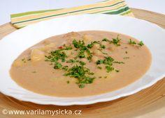 vydatná cizrnová polévka