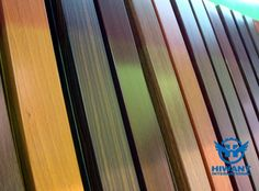 Hiwant Top quality wood grain finished aluminium profiles for building decoration materials.