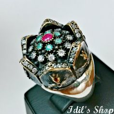 Authentic Turkish Ottoman Style Handmade 925 Sterling by IdilsShop, $85.00