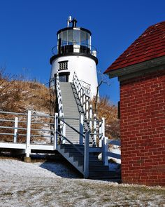 Maine Lighthouses and Beyond: Owl's Head Lighthouse