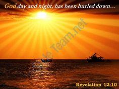 revelation 12 10 god day and night has been powerpoint church sermon Slide01  http://www.slideteam.net/