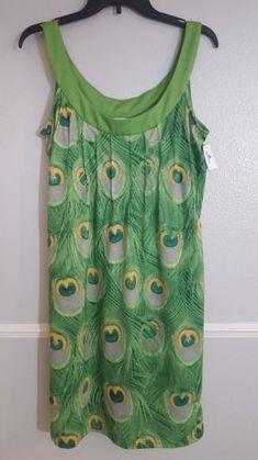 e6a9c5b881bcc Disney-Fantasy-Cruise-Line-Green-Tropical-PEACOCK-Dress-