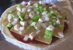 Gluten-Free Tortilla Pizza, Quick and Easy