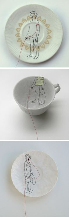 diem chau - embroidery & ceramics <3