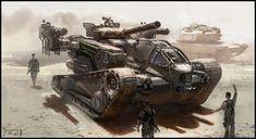 Patrick Faulwetter concept art for GI JOE Army Vehicles, Armored Vehicles, Gi Joe, Future Weapons, Sci Fi Weapons, Engin, Futuristic Cars, Futuristic Design, Tank Design
