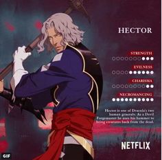 Hi his charisma level should be hIGHER Castlevania Dracula, Alucard Castlevania, Castlevania Netflix, Castlevania Lord Of Shadow, Game Character, Character Concept, Character Design, Fantasy Characters, Anime Characters