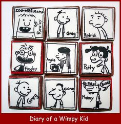 Wimp yourself diary of a wimpy kid wimp wizardhave you or your diary of a wimpy kid cake design idea solutioingenieria