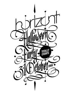 Typography by Ivan Manolov, via Behance