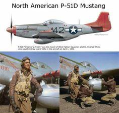 "North American P-51D Mustang ""Creamer's Dream"". 1945"