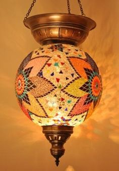 Mosaic Art, Mosaic Glass, Glass Art, Moroccan Lighting, Moroccan Lamp, Vintage Candle Holders, Glass Candle Holders, Turkish Lamps, Gourd Lamp