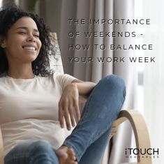 I want to ask you a question my dear readers - when did you last take a weekend? Click the link to find out how to balance your work week! Work Week, You Working, How To Find Out, Things I Want, This Or That Questions