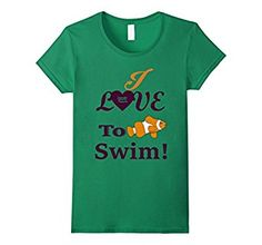 This shirt is perfect for summer wear! If you love swimming, Just keep swimming With this shirt! Featuring a cute clown fish that looks like Nemo!