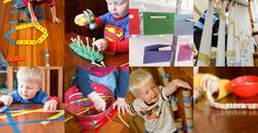 Fine motor activities for toddlers that are simple enough for 1-3 year olds, include threading, poking, pinching, tracing and hand-eye coordination!