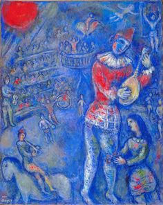 chagall paintings | dear things repeat without tedium | into the flare and glare