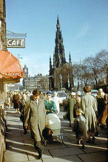 1961-09 Scott Monument, Princes Street, Edinburgh, Scotland (Original)