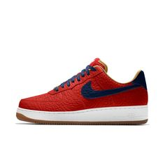 Nike Air Force 1 Low Premium iD (New Orleans Pelicans) Men's Shoe Size 10.5 (Red)