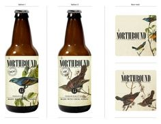 Northbound Brewing packaging designed by Paperjam.