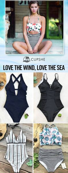Hot Items Restock! ALL size available. Inspire your confidence and beauty through these redefined and affordable swimsuits. Do have a beach trip this spring and leave yourself a hot memory~ Celebrate the season with these fabulous swimsuits, adorable & affordable, selected for your body. You are bound to look fabulous!