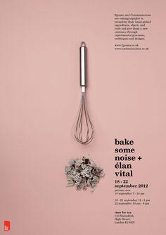 Design & Food: Bake Some Noise | Keepsake Magazine