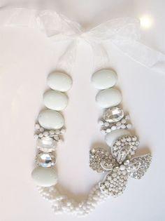 Repurposed jewelry and beads