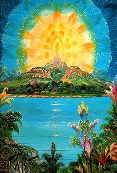 """Joseph Parker the """"grandfather"""" of today's visionary artists."""
