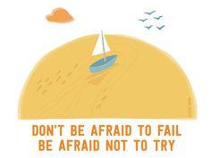 Don't be afraid...  http://helloadventurer.nl/  A project by Studio Brun http://www.studiobrun.nl/